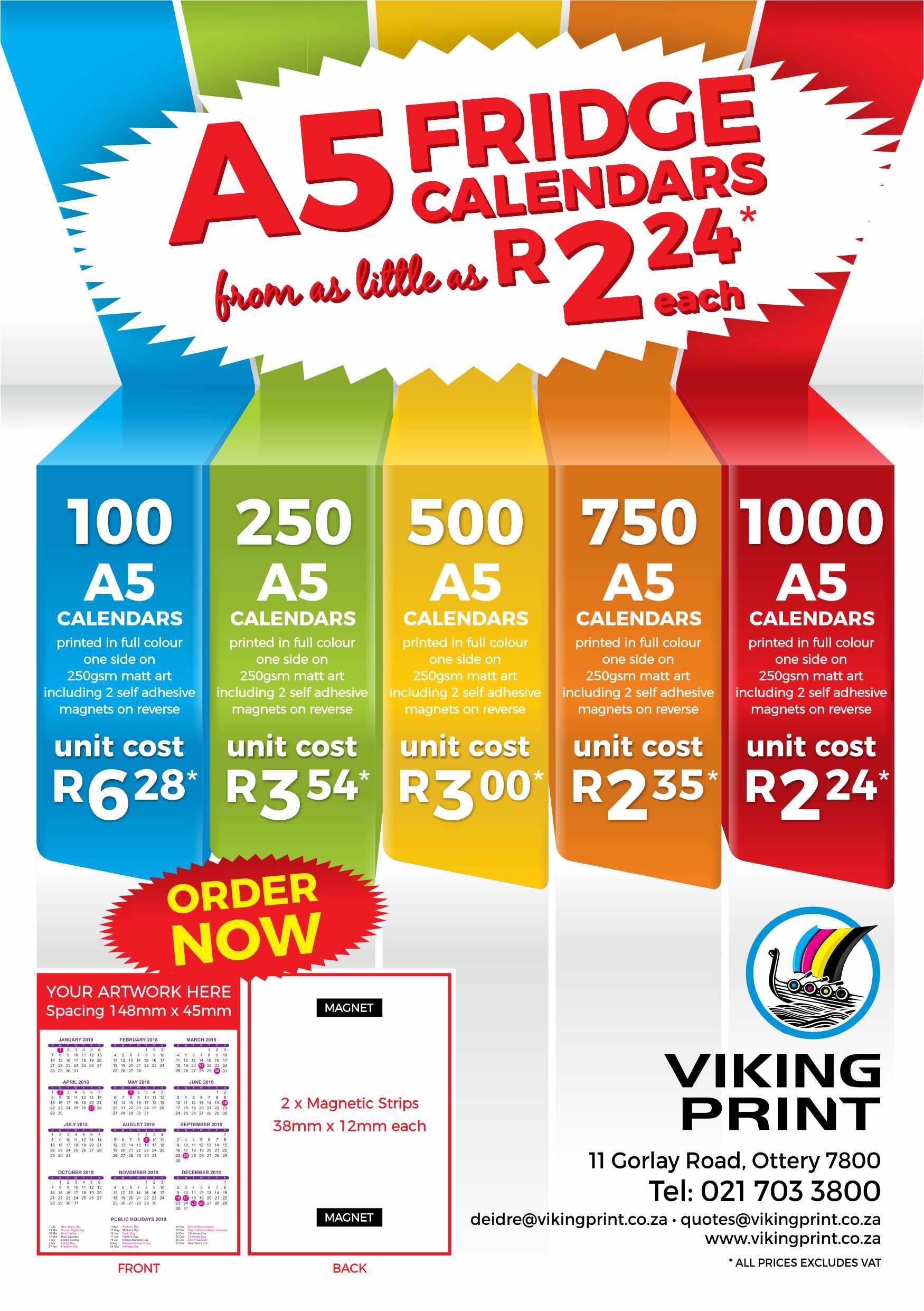 Viking Calendar Special 181009