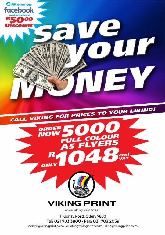 Viking Save Your Money Viking A5 Flyer 190301
